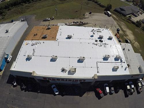 The Logistics Behind Fixing A Flat Roof